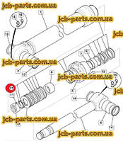 Ремкомплект гидроцилиндра ковша  (115Х85)  (после 10/04/2009) 331/39041 для колесного  экскаватора JCB