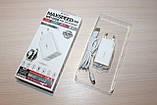 Зарядное устройство WP Desing WP-U56 2USB 2A + кабель micro White, фото 2