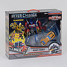 Набор трансформеров Оптимус Прайм и Бамблби Transformers Inter Chane Optimus Prime , фото 2