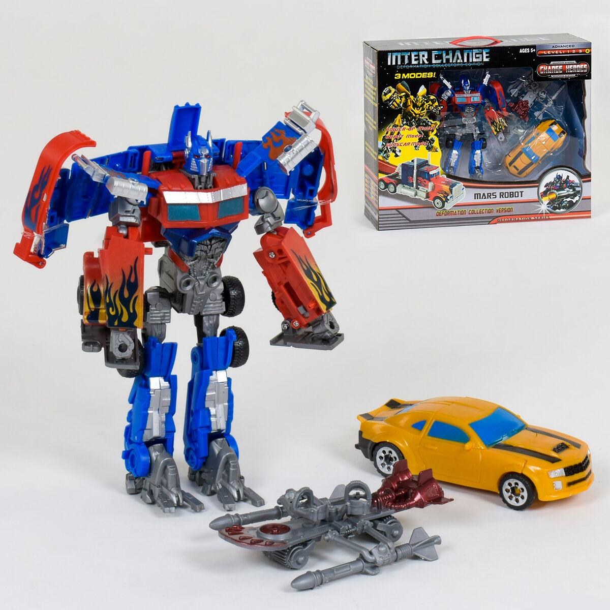 Набор трансформеров Оптимус Прайм и Бамблби Transformers Inter Chane Optimus Prime
