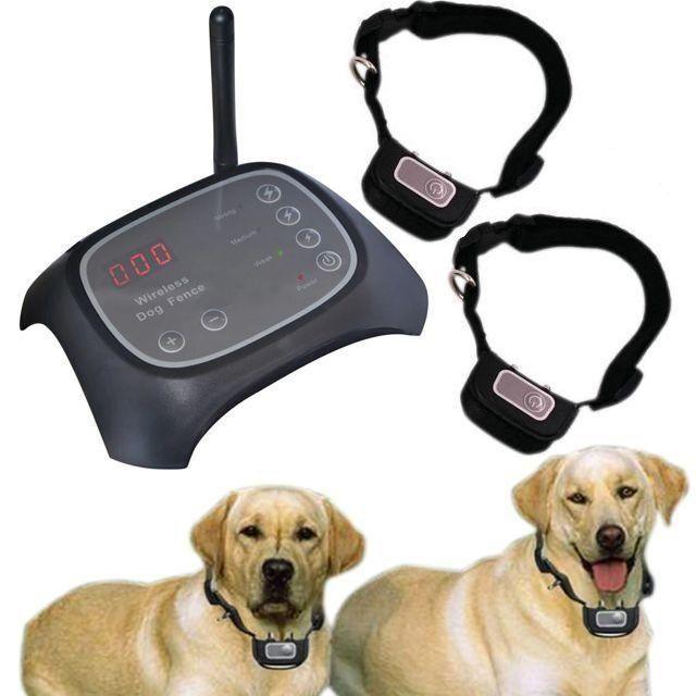 Беспроводной электронный забор для собак Wireless Dog Fence WDF-200 с 2-мя ошейниками