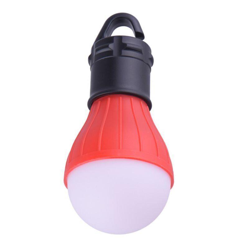 Фонарь для палатки туристический светодиодный TL-3, красный, на батарейках ААА