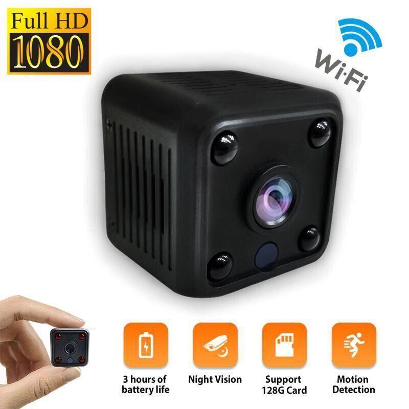 Wifi мини камера беспроводная с записью Zoohi SH09, 2 Мп, HD 1080P, SD карты до 128 Гб
