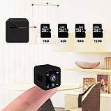 Wifi мини камера беспроводная с записью Zoohi SH09, 2 Мп, HD 1080P, SD карты до 128 Гб, фото 4