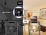 Wifi мини камера беспроводная с записью Zoohi SH09, 2 Мп, HD 1080P, SD карты до 128 Гб, фото 5