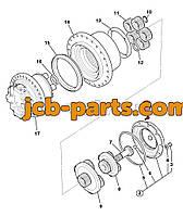 Мотор хода в сборе с редуктором на экскаватор JCB JS240, JS260 20/925465 для гусеничного экскаватора JCB
