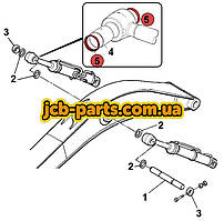 Ущільнення в вушко штока г / циліндра стріли 166-1495 для Caterpillar 325D / 329D