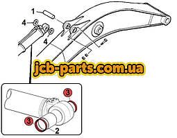 Уплотнение в основание г/цилиндра рукояти 166-1494 для Caterpillar 320D