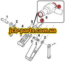 Уплотнение на палец штока г/цилиндра ковша 333/C4996 для JCB JS330