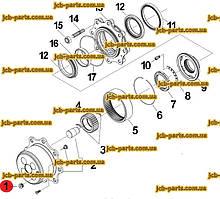 Заливна пробка 152-6144 для CAT 428E, 432E, 442E, 428F, 432F