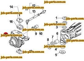 Ремкомплект (набір ущільнень), задній ковш, машини після 2012 року VOE15196138 для Volvo BL61 PLUS, BL71