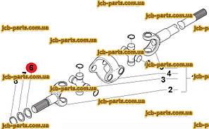 Ремкомплект (набір ущільнень) г / циліндра стріли VOE15173282 для Volvo BL61 PLUS, BL71 PLUS