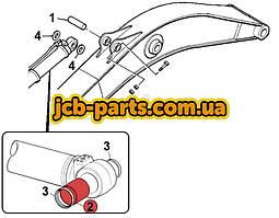 Втулка в основание г/цилиндра рукояти 332/H5523 для JCB JS260