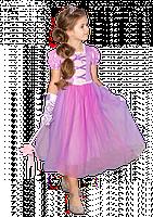 Карнавальное платье Рапунцель 2020 для девочки