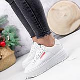 Кроссовки женские Supre белые 2780, фото 2