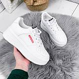 Кроссовки женские Supre белые 2780, фото 4