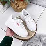 Кроссовки женские Supre белые 2780, фото 5