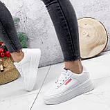 Кроссовки женские Supre белые 2780, фото 10