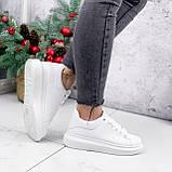 Кроссовки женские QMac белые 2778, фото 3