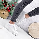 Кроссовки женские QMac белые 2778, фото 4