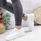 Кроссовки женские QMac белые 2778, фото 5