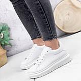 Кроссовки женские QMac белые 2778, фото 6