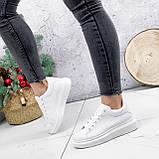 Кроссовки женские QMac белые 2778, фото 7