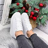 Кроссовки женские QMac белые 2778, фото 8