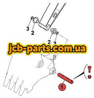 Палець ковша (з'єднання з руків'ям) 205-70-73270 для Komatsu PC200 (7 серія)