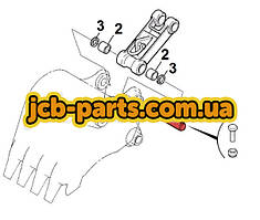 Палець ковша (з'єднання з трапецією) 205-70-73270 для Komatsu PC200 (7 серія)