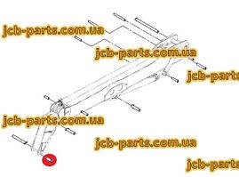 Палець в шток г / циліндра перекидання каретки (ковша) 1025/2002 для навантажувача JCB 540-140