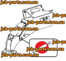 Палец (крепление лапы стабилизатора к раме) 1025/2017 для стабилизатора  колесного экскаватора JCB JS160W.