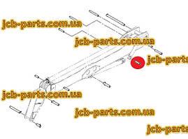 Палець в основу г / циліндра зміщення стріли 1019/2043 для навантажувача JCB 540-140