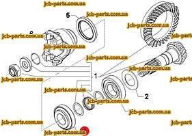 Подшипник хвостовика (ближе к хвосту) 095-1041, 0951041 для CAT 434E, 444E, 434F, 444F