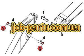 Пыльник в рукоять (соединение рукоять - стрела) 07145-00090 для Komatsu PC200 (7 серия)