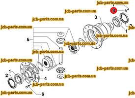 Фіксатор 199-0858, 1990858 для CAT 428E, 432E, 442E, 428F, 432F