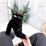 Ботильоны женские Christel черные ДЕМИ 2782, фото 6