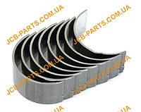 Шатунні вкладиші (комплект), 1-й ремонтний розмір +0.010 02/202916, U5ME0013A, U5ME0026A, U5ME0034A для JCB