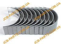 Корінні вкладиші (комплект), 2-й ремонтний розмір +0.020 02/202913, U5MB0018B, U5MB0033B для JCB 3CX, 4CX