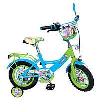 Велосипед детский 12 Profi LT 0050-01 Зелено-голубой intLT 0050-01, КОД: 130420