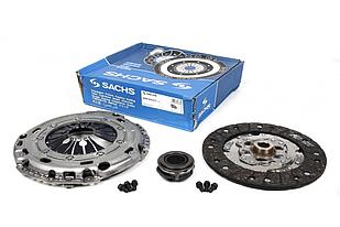 Комплект сцепления VW T5 1.9TDI, 03- (6 болтов) SACHS (Германия) 3000970017