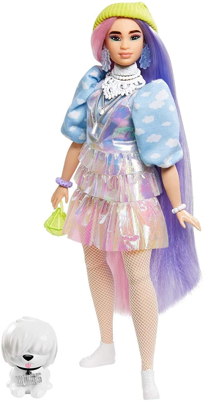 Кукла азиатка Барби Экстра мерцающий образ лук кенди квин Barbie Extra Doll #2 in Shimmery Look кэнди оригинал