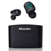 Беспроводные Bluetooth наушники Bluedio T ELF 2 TWS с зарядным боксом.