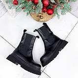 Ботинки женские Lina черные ЗИМА 2770, фото 3