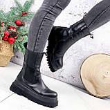 Ботинки женские Lina черные ЗИМА 2770, фото 2