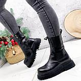 Ботинки женские Lina черные ЗИМА 2770, фото 5