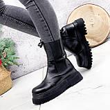 Ботинки женские Lina черные ЗИМА 2770, фото 6
