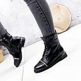 Ботинки женские Karel черные ЗИМА 2771, фото 3