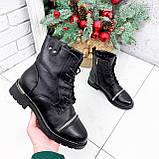Ботинки женские Karel черные ЗИМА 2771, фото 4