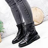 Ботинки женские Karel черные ЗИМА 2771, фото 5